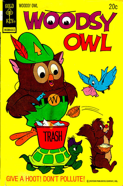 Cover for Woodsy Owl (Western, 1973 series) #1 [Whitman Variant]