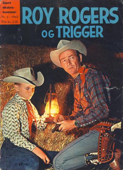 Cover for Roy Rogers (Serieforlaget / Se-Bladene / Stabenfeldt, 1954 series) #2/1962