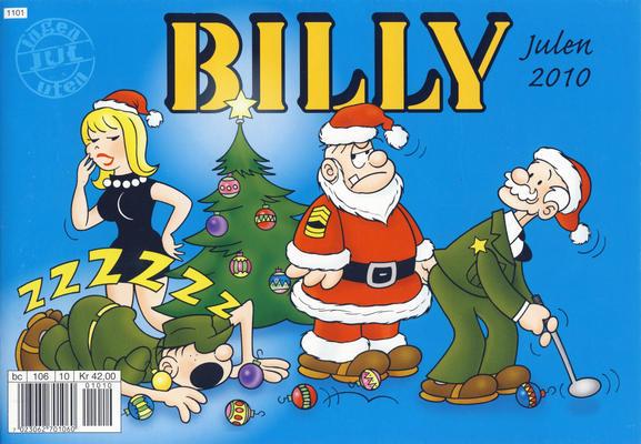 Cover for Billy julehefte (Hjemmet / Egmont, 1970 series) #2010