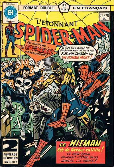 Cover for L'Étonnant Spider-Man (Editions Héritage, 1969 series) #75/76