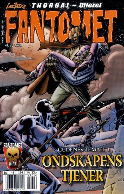 Cover for Fantomet (Hjemmet / Egmont, 1998 series) #24/2006
