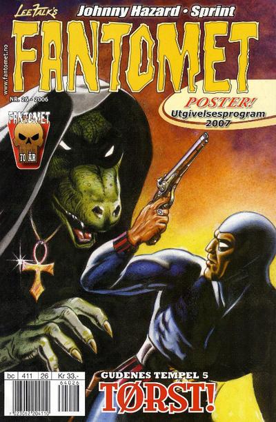 Cover for Fantomet (Hjemmet / Egmont, 1998 series) #26/2006