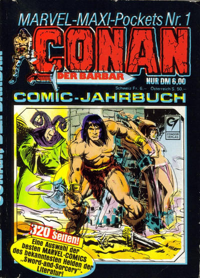 Cover for Marvel-Maxi-Pockets (Condor, 1980 series) #1