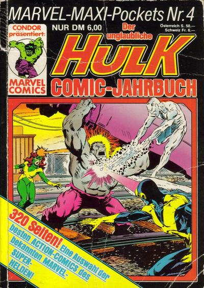 Cover for Marvel-Maxi-Pockets (Condor, 1980 series) #4