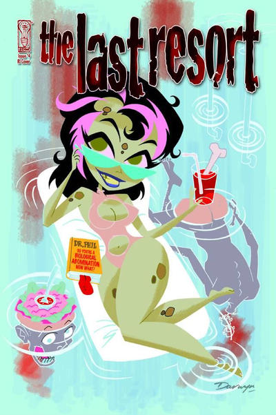 Cover for The Last Resort (IDW, 2009 series) #4 [Cover RI]