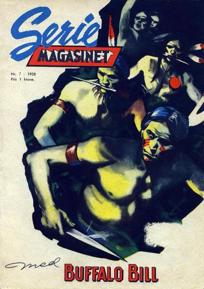 Cover for Seriemagasinet (Serieforlaget / Se-Bladene / Stabenfeldt, 1951 series) #7/1958