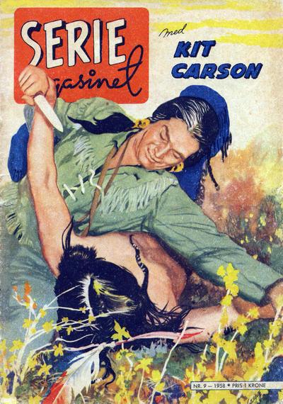 Cover for Seriemagasinet (Serieforlaget / Se-Bladene / Stabenfeldt, 1951 series) #9/1958