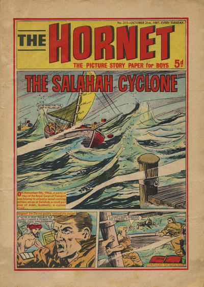 Cover for The Hornet (D.C. Thomson, 1963 series) #215