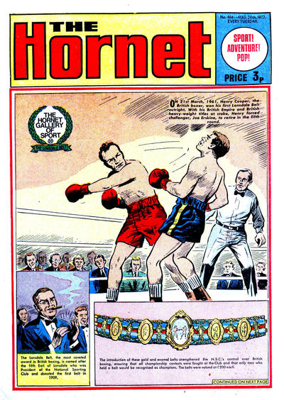 Cover for The Hornet (D.C. Thomson, 1963 series) #468