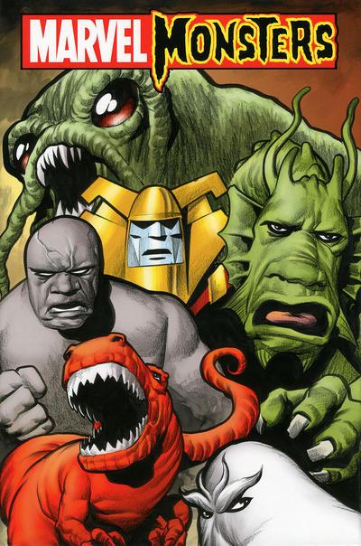 Cover for Marvel Monsters (Marvel, 2006 series)