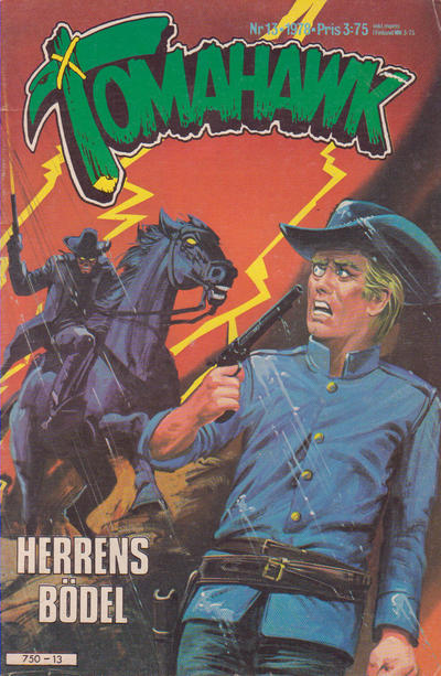 Cover for Tomahawk (Semic, 1976 series) #13/1978
