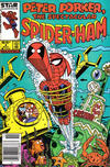 Cover Thumbnail for Peter Porker, the Spectacular Spider-Ham (1985 series) #4 [Newsstand Edition]
