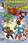 Cover Thumbnail for Peter Porker, the Spectacular Spider-Ham (1985 series) #16 [Newsstand Edition]