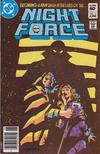 Cover for The Night Force (DC, 1982 series) #11 [Newsstand]