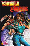 Cover for Vampirella / Witchblade (Harris Comics, 2003 series) #1 [Conner Cover]