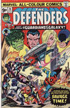 Cover for The Defenders (Marvel, 1972 series) #26 [British]