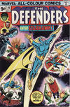 Cover for The Defenders (Marvel, 1972 series) #28 [British]