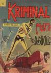 Cover for Kriminal (Editoriale Corno, 1964 series) #6