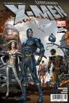 Cover for Los Increíbles Hombres X, Uncanny X-Men (Editorial Televisa, 2009 series) #1