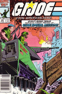 Cover Thumbnail for G.I. Joe, A Real American Hero (Marvel, 1982 series) #50 [Newsstand Edition]