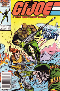 Cover Thumbnail for G.I. Joe, A Real American Hero (Marvel, 1982 series) #56 [Newsstand Edition]