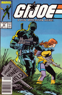 Cover Thumbnail for G.I. Joe, A Real American Hero (Marvel, 1982 series) #63 [Newsstand Edition]