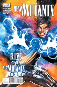 Cover Thumbnail for New Mutants (Marvel, 2009 series) #21