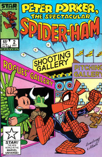 Cover Thumbnail for Peter Porker, the Spectacular Spider-Ham (Marvel, 1985 series) #2 [Direct Edition]