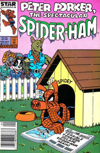 Cover Thumbnail for Peter Porker, the Spectacular Spider-Ham (Marvel, 1985 series) #10 [Newsstand]