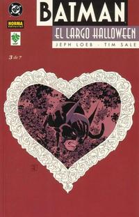Cover Thumbnail for Batman: El largo Halloween (NORMA Editorial, 2001 series) #3
