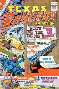 Cover Thumbnail for Texas Rangers in Action (Charlton, 1956 series) #26