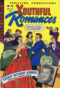 Cover Thumbnail for Youthful Romances (Ribage, 1953 series) #8