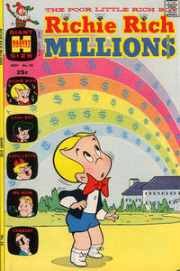 Cover Thumbnail for Richie Rich Millions (Harvey, 1961 series) #56