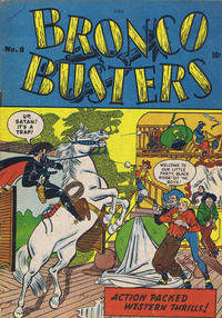 Cover Thumbnail for Bronco Busters (Bell Features, 1950 series) #8