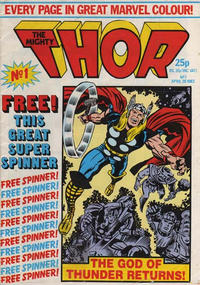 Cover Thumbnail for The Mighty Thor (Marvel UK, 1983 series) #1