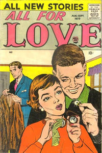 Cover Thumbnail for All for Love (Prize, 1957 series) #v3#2 [15]