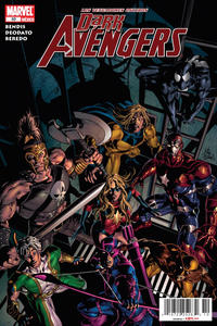 Cover for Los Vengadores Oscuros, Dark Avengers (Editorial Televisa, 2010 series) #10