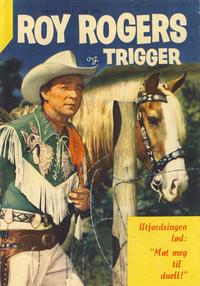 Cover Thumbnail for Roy Rogers (Serieforlaget / Se-Bladene / Stabenfeldt, 1954 series) #13/1957