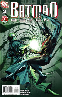 Cover Thumbnail for Batman Beyond (DC, 2011 series) #3