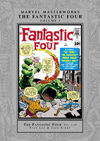 Cover Thumbnail for Marvel Masterworks: The Fantastic Four (Marvel, 2003 series) #1 [Regular Edition]