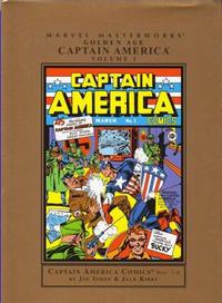 Cover Thumbnail for Marvel Masterworks: Golden Age Captain America (Marvel, 2005 series) #1 [Regular Edition]