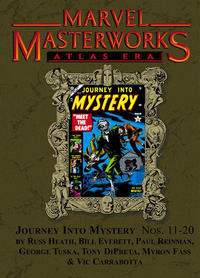 Cover Thumbnail for Marvel Masterworks: Atlas Era Journey Into Mystery (Marvel, 2008 series) #2 (118) [Limited Variant Edition]