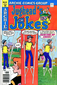 Cover Thumbnail for Jughead's Jokes (Archie, 1967 series) #65