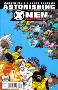 Cover Thumbnail for Astonishing X-Men: Xenogenesis (Marvel, 2010 series) #5