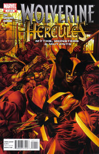 Cover for Wolverine / Hercules: Myths, Monsters & Mutants (Marvel, 2011 series) #1