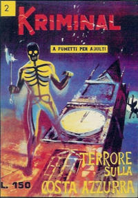 Cover Thumbnail for Kriminal (Editoriale Corno, 1964 series) #2