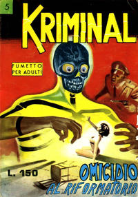 Cover Thumbnail for Kriminal (Editoriale Corno, 1964 series) #5