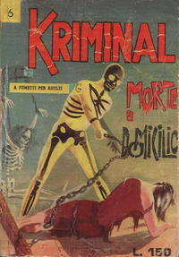 Cover Thumbnail for Kriminal (Editoriale Corno, 1964 series) #6