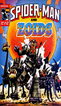 Cover Thumbnail for Spider-Man and Zoids (Marvel UK, 1986 series) #21