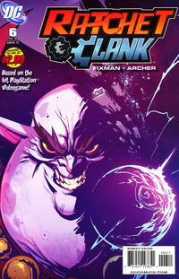 Cover Thumbnail for Ratchet & Clank (DC, 2010 series) #6
